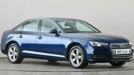 image for 2017 Audi A4 2.0T FSI Sport 4dr Saloon petrol Manual