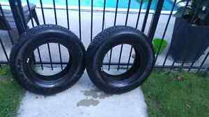 2x  GoodYear Nordic Winter Tires 215R7015