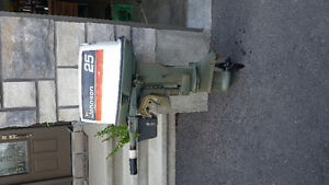 Outboard Johnson 25 hp