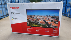 TV 65INCH TOSHIBA SMART WIFI 4K ULTR HD HDR