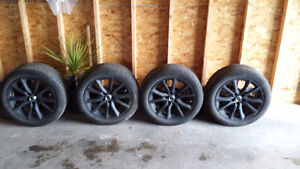 225/50R/17 rims and tires for sale.