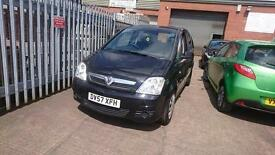 2007 / 57 Vauxhall Meriva 1.6 I 16v Club 5 Door Full MOT+Warranty+AA Cover