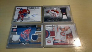 8 Card Lot Montreal Canadiens Hockey Cards