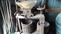 Antique Cider Mill and Press