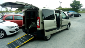 2012 Peugeot Export Tepee Wheelchair Friendly with Ramp Nice car