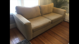 Camel Coloured Couch