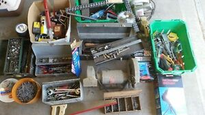 HUGE LOT OF HAND AND POWER TOOLS