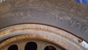 General Altimax winter tires 215/55 /16