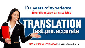 ✍ ✍ Best Experienced Native French Translator on Kijiji! ✍ ✍ ✍ ✍