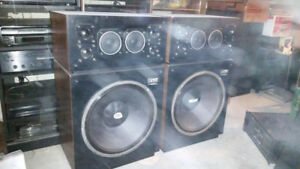 "audiosphere 18l speakers ""monster speakers with 18 inch woofer"""