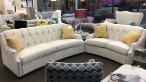 Canadian Made Sofa & Love Seat. Your choice of Color.