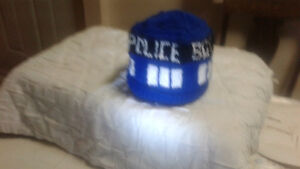 NEW DR. WHO TARDIS TOQUES
