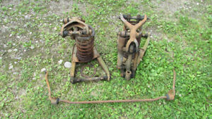 Late 30s Plymouth Dodge front end parts 1936, 1937, 1938, 1939