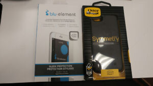 IPHONE 8 OTTERBOX & SCREEN PROTECTOR