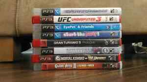 (Look at description) 8 ps3 games in excellent condition