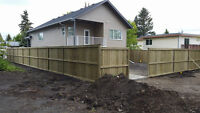 Ground Up Wood Fencing