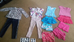 Girl clothes Size 3   All together  $7