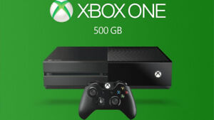 XBOX ONE 500GB with 2 Controllers - Mint Condition Assured