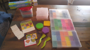 Perler bead lot - great for starters