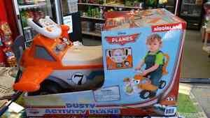 Kid's Ride On Dusty Activity Plane