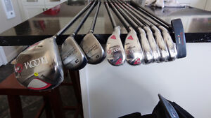 Ladies lefthanded golf clubs