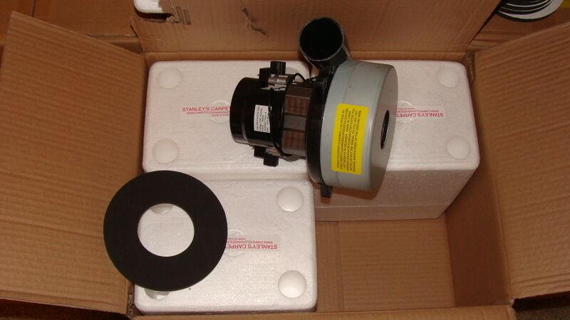 vacuum motor 2 stage carpet cleaners  carwash central ametek