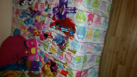 My little pony dolls and castle
