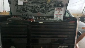 Master Automotive Technician tool box and tools