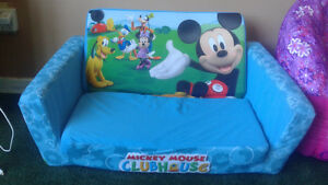 Mickey mouse clubhouse fold out chair, and frozen chair St. John's Newfoundland image 2