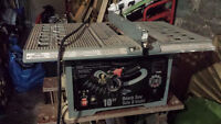 """Banc de scie 10"""" Compact King Table Saw great"""