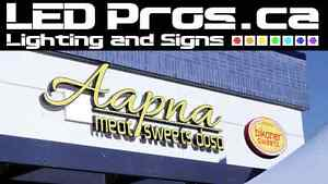 LED Channel Letters/ Led Signs/ Bussiness Sign Edmonton Edmonton Area image 1