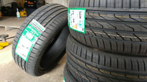 New 225/45R18 summer tires, $440 for 4,