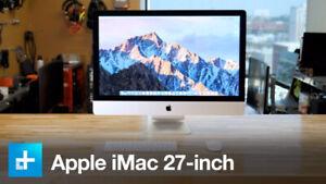 iMac - 27 inch - Late 2013 - 1T drive, 24 GB Ram - Core I5 3.2Gh
