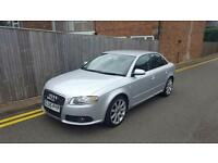 Audi A4 2.0TDI S LINE 2005 SILVER ONLY 42,000 MILES LAST OWNER FOR 9 YEARS