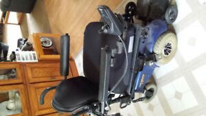 Used Power wheelchair with built-in charger