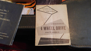 Vintage auto manuals