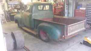 Looking for 1949 through 1954 Chevy half ton pickup registration