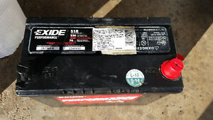 Almost New Exide Car Battery Group 51R