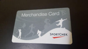 Sportchek Giftcard ($345 on card, asking for $300)