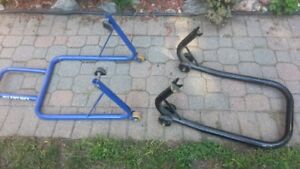 2 Motorcycle Rear Stands