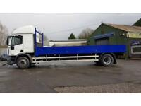 Iveco Eurocargo 18 ton sleeper 24 ft dropside
