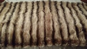 Genuine Fur throws - great Christmas gifts