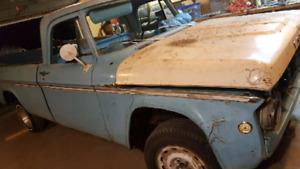 1969 Fargo parts truck