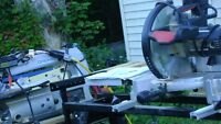 Craftsman 10inch compound mitre saw  and stand