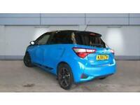 2018 Toyota Yaris 1.5 Vvt-I Blue Bi-Tone Man+Navi Manual Hatchback Petrol Manual