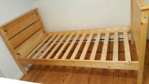 2 twin beds for sale- Bunk beds