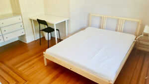 Furnished Room Near Granville Easy transit to UBC & DT Avail Now
