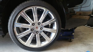 """Cadillac ATS 18"""" Rims and Tires Package Kitchener / Waterloo Kitchener Area image 1"""