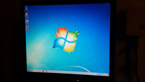 "Used 17"" Acer LCD Computer Monitor for Sale"
