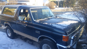 $5000 1990 Ford bronco